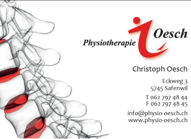 Christoph Oesch Physiotherapie, Safenwil